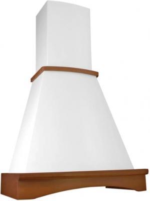 Вытяжка купольная Elikor Ротонда 90 (золотой антик/бук светло-коричн.) - общий вид