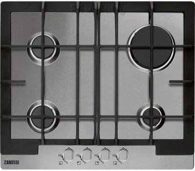 Газовая варочная панель Zanussi ZGG66414XA - общий вид