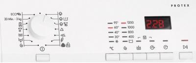 Стиральная машина AEG L60260SL - панель управления