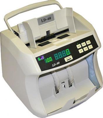 Счетчик банкнот LD (Speed) LD-60 - общий вид