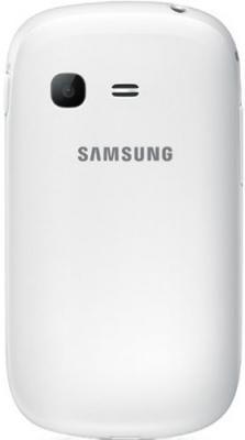 Мобильный телефон Samsung S3802 Rex 70 Duos White (GT-S3802 CWWSER) - задняя панель