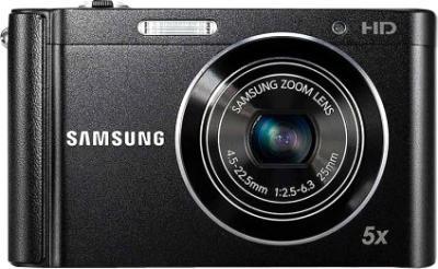 Компактный фотоаппарат Samsung ST89 (Black, EC-ST89ZZFPBRU) - вид спереди