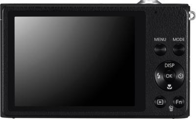Компактный фотоаппарат Samsung ST89 (Black, EC-ST89ZZFPBRU) - вид сзади