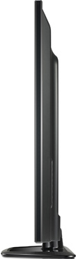 Телевизор LG 32LN540V - вид сбоку