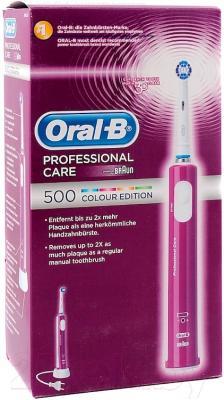 Электрическая зубная щетка Braun Oral-B ProfessionalCare 500 Colour Edition /D16.513 (81426302)