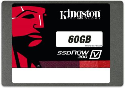 SSD диск Kingston SSDNow V300 60GB (SV300S37A/60G) - общий вид