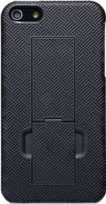 Задняя крышка для Apple iPhone 4 Nillkin Shield With Stand Black - общий вид