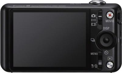 Компактный фотоаппарат Sony Cyber-shot DSC-WX60 Black - вид сзади