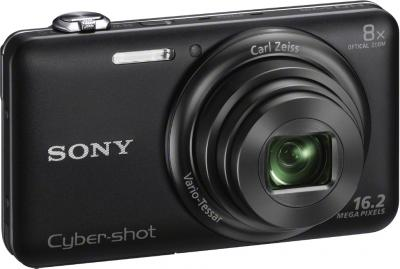 Компактный фотоаппарат Sony Cyber-shot DSC-WX60 Black - общий вид