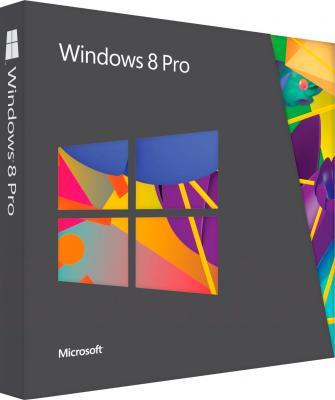 Операционная система Microsoft Windows Pro 8 32bit Ru 1pk DSP (FQC-05936) - общий вид