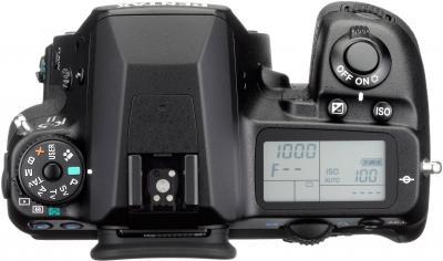 Зеркальный фотоаппарат Pentax K-5 II Body - вид сверху