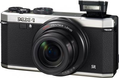 Компактный фотоаппарат Pentax MX-1 Silver - общий вид