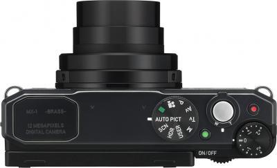 Компактный фотоаппарат Pentax MX-1 Black - вид сверху