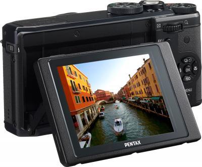 Компактный фотоаппарат Pentax MX-1 Black - поворотный экран