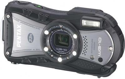 Компактный фотоаппарат Pentax WG-10 Black - общий вид