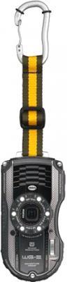 Компактный фотоаппарат Pentax WG-3 Black-Gray - общий вид