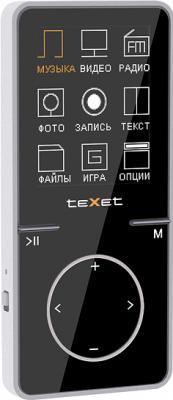 MP3-плеер TeXet T-479 (4GB, черный) - общий вид