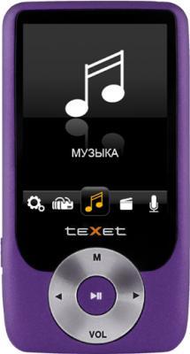 MP3-плеер TeXet T-795 (4GB) Purple - общий вид