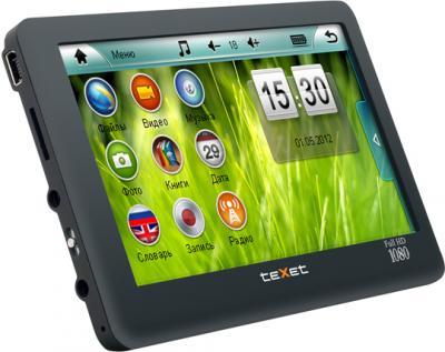 MP3-плеер TeXet T-979HD (4 Gb) Black - вид сбоку