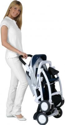 Детская прогулочная коляска Chicco Simplicity Plus Morgana - в сложенном виде