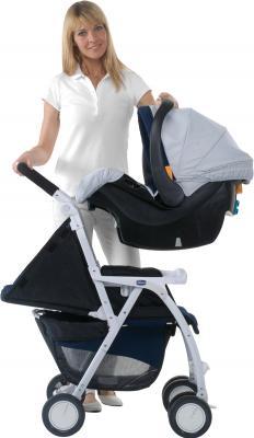 Детская прогулочная коляска Chicco Simplicity Plus (графит) - общий вид