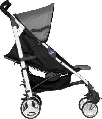 Детская прогулочная коляска Chicco Lite Way Complete (Black Night) - вид сбоку