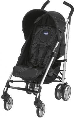 Детская прогулочная коляска Chicco Lite Way Complete Coal - общий вид