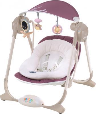 Качели для новорожденных Chicco Polly Swing Rose - общий вид
