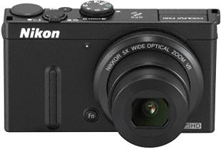 Компактный фотоаппарат Nikon Coolpix P330 Black - общий вид