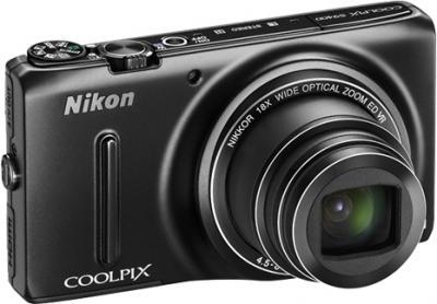 Компактный фотоаппарат Nikon Coolpix S9400 Black - общий вид
