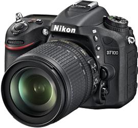 Зеркальный фотоаппарат Nikon D7100 Kit 18-105mm - общий вид