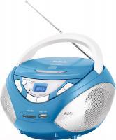 Магнитола BBK BX108U (голубой металлик) -