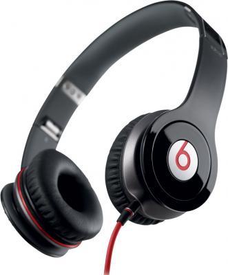 Наушники-гарнитура Beats Solo HD (черный) - общий вид