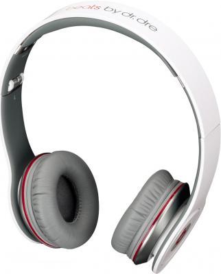 Наушники-гарнитура Beats Solo HD White - общий вид