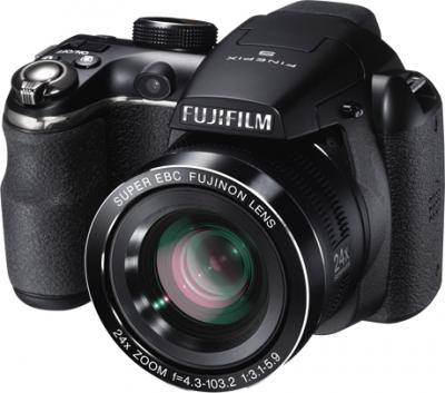 Компактный фотоаппарат Fujifilm FinePix S4300 Black - общий вид