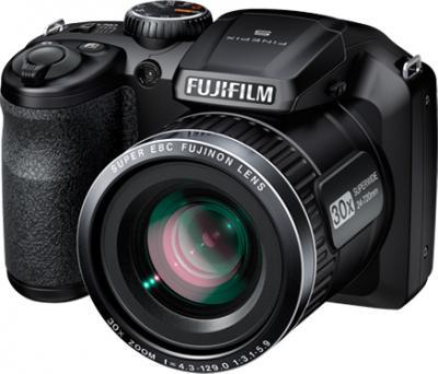 Компактный фотоаппарат Fujifilm FinePix S4800 Black - общий вид