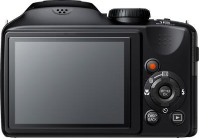 Компактный фотоаппарат Fujifilm FinePix S4800 Black - вид сзади