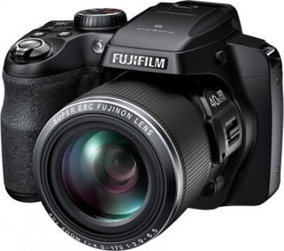 Компактный фотоаппарат Fujifilm FinePix S8300 Black - общий вид