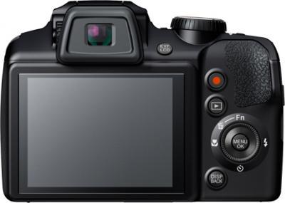 Компактный фотоаппарат Fujifilm FinePix S8300 Black - вид сзади
