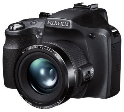 Компактный фотоаппарат Fujifilm FinePix SL310 Black - общий вид