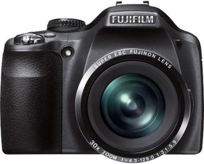Компактный фотоаппарат Fujifilm FinePix SL310 Black - вид спереди