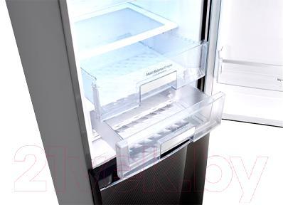Холодильник с морозильником LG GA-B489TGKR - зона свежести