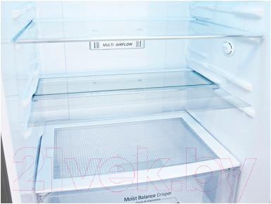 Холодильник с морозильником LG GA-B489TGKR - полки