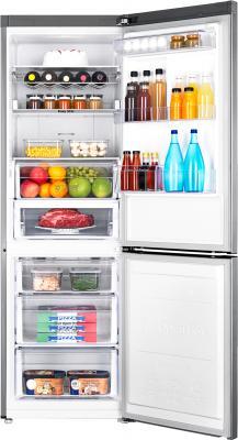 Холодильник с морозильником Samsung RB31FERMDSS/WT - камеры хранения