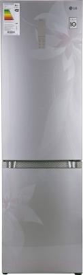 Холодильник с морозильником LG GA-B489TGDF - вид спереди
