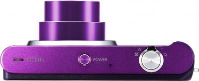Компактный фотоаппарат Samsung ST88 Purple (EC-ST88ZZFPLRU) - вид сверху