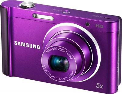 Компактный фотоаппарат Samsung ST88 Purple (EC-ST88ZZFPLRU) - общий вид
