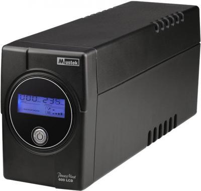 ИБП Mustek PowerMust 600 LCD 600VA - общий вид