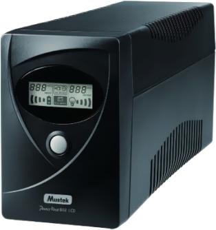 ИБП Mustek PowerMust 636 LCD - общий вид