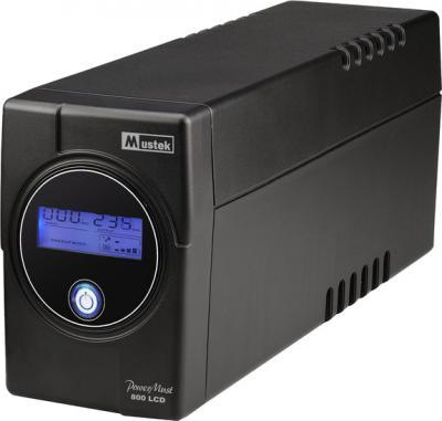 ИБП Mustek PowerMust 800 LCD 800VA - общий вид